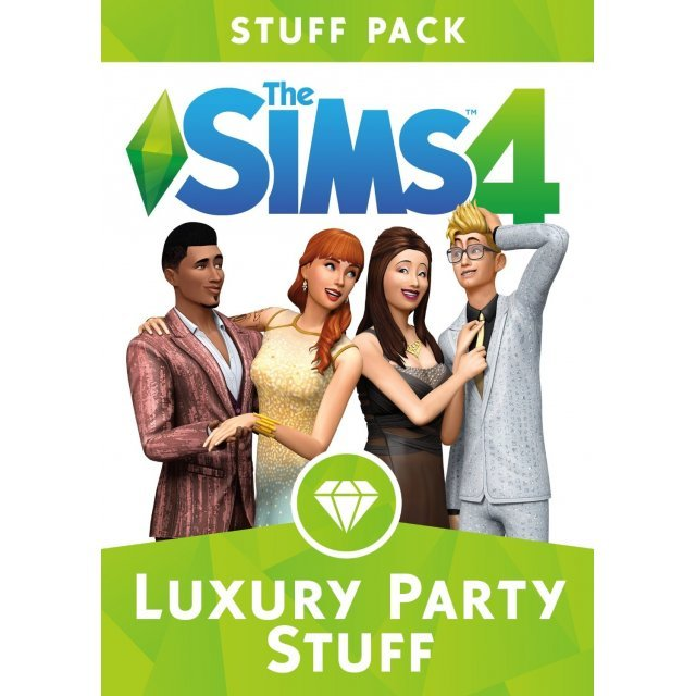 The Sims 4: Luxury Party Stuff (Origin)