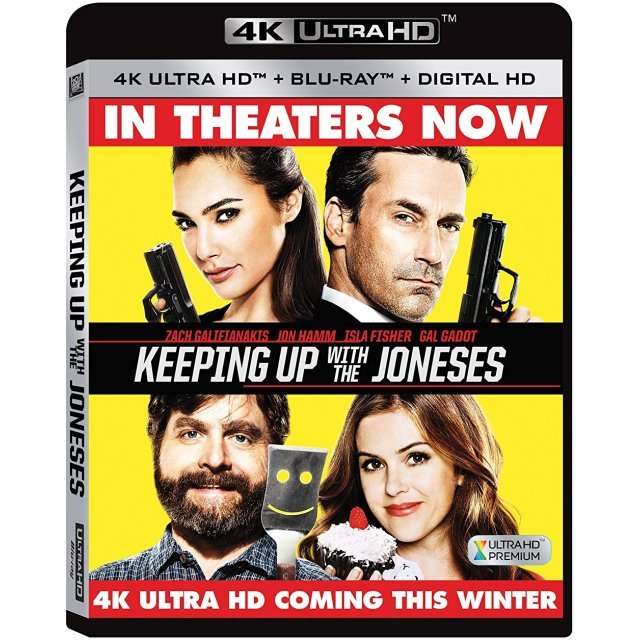 Keeping Up With The Joneses [4K Ultra HD Blu-ray]
