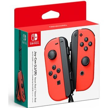 Nintendo Switch Joy-Con Controllers (Neon Red)