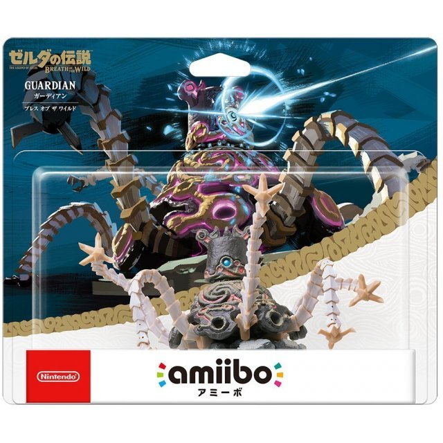 amiibo The Legend of Zelda: Breath of the Wild Series Figure (Guardian)