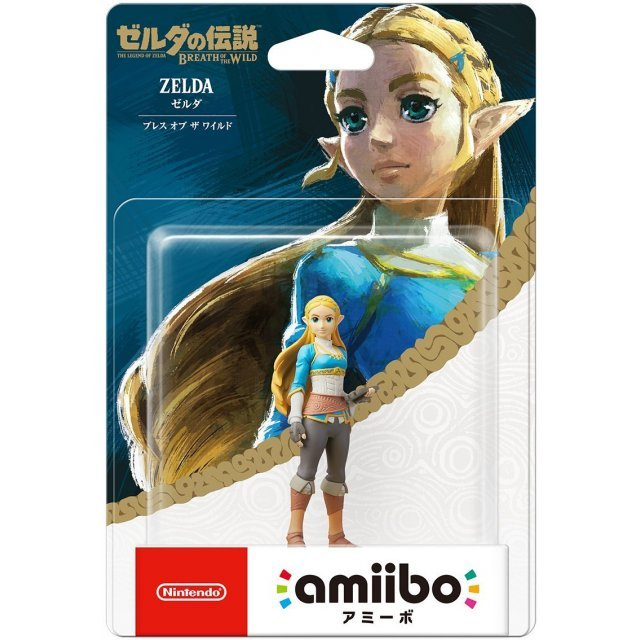 amiibo The Legend of Zelda: Breath of the Wild Series Figure (Zelda)