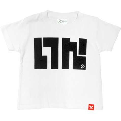 Splatoon - Ika Logo T-shirt White - Kids Size 140cm