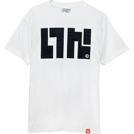 Splatoon - Ika Logo T-shirt White (S Size)