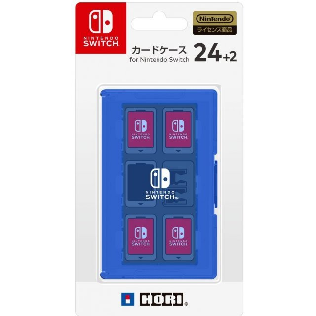 Card Case 24+2 for Nintendo Switch (Blue)