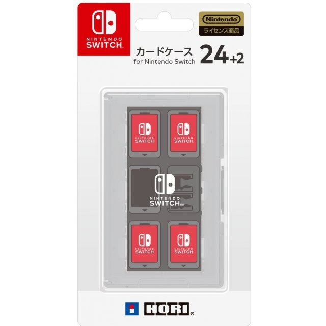 Card Case 24+2 for Nintendo Switch (White)