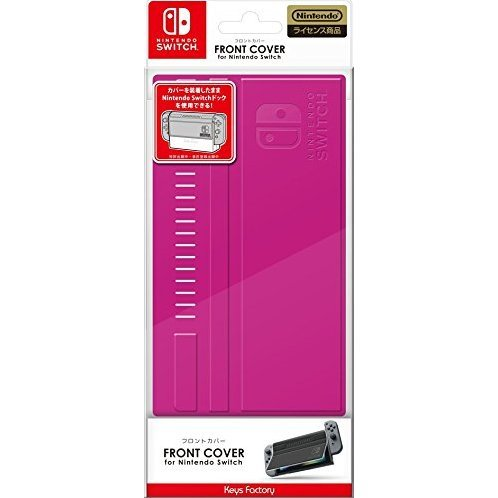Front Cover for Nintendo Switch (Pink)
