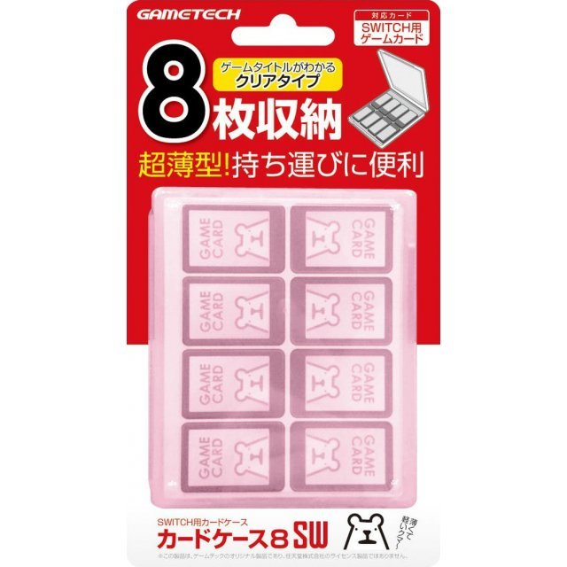Nintendo Switch Card Case 8 (Pink)