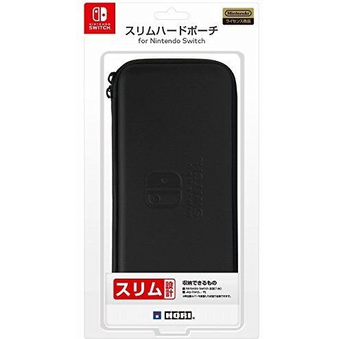 Slim Hard Pouch for Nintendo Switch (Black)
