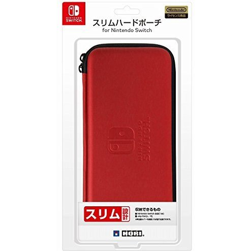 Slim Hard Pouch for Nintendo Switch (Red)