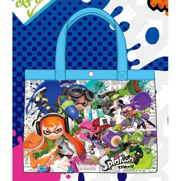 Splatoon Beach Bag Series Tote Bag Spt-301