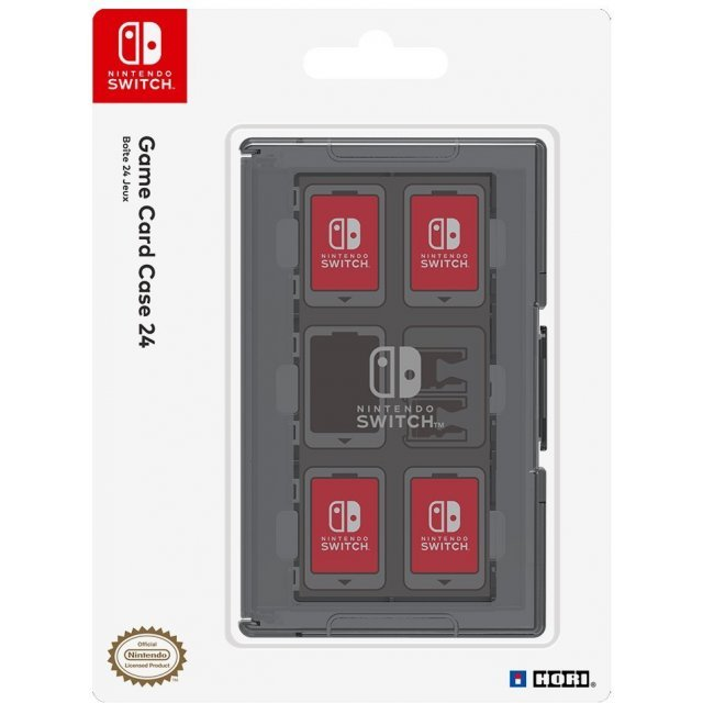 Card Case 24 for Nintendo Switch (Black)