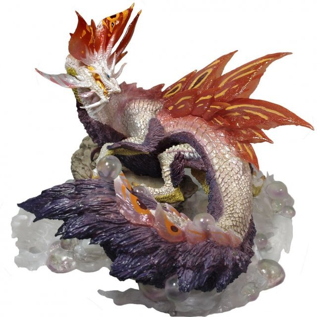 Capcom Figure Builder Creators Model Monster Hunter XX: Bubble Fox Wyvern Mizutsune Anger