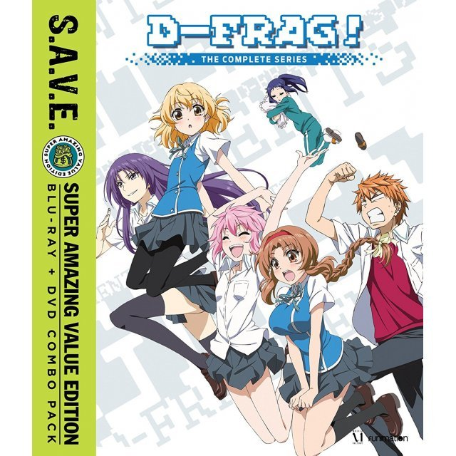 D-Fragments!: The Complete Series S.A.V.E.