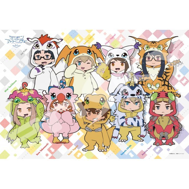 Digimon Adventure tri. Jigsaw Puzzle: Digimon ni Nacchatta (300 Pieces)