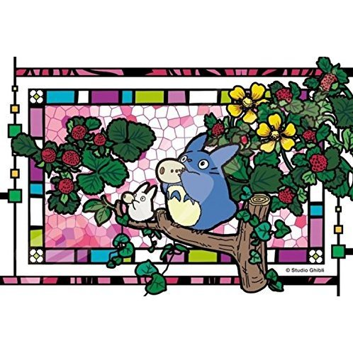 My Neighbor Totoro Art Crystal Jigsaw Puzzle: Okarina wo Fuite (126 Pieces)