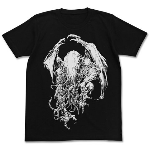 Cthulhu Jun Suemi Ver. T-shirt Black (XL Size) [Re-run]