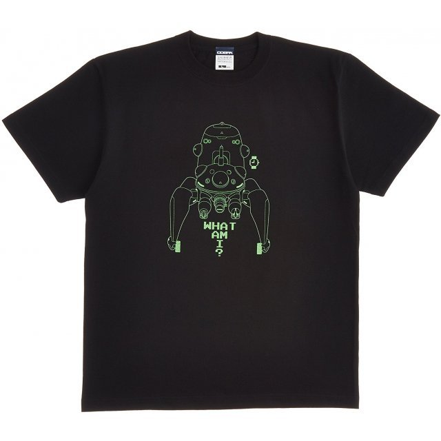Ghost In The Shell Stand Alone Complex Tachikoma T-shirt Black (XL Size) [Re-run]