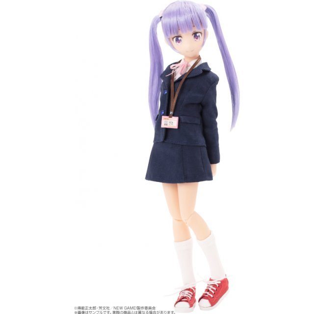 New Game! Pureneemo Character Series 1/6 Scale Fashion Doll: Aoba Suzukaze