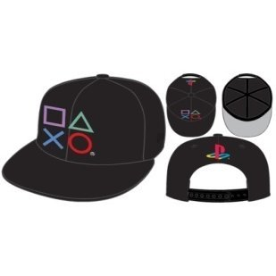 PlayStation x New Era Cap Black (Type B-Botton)