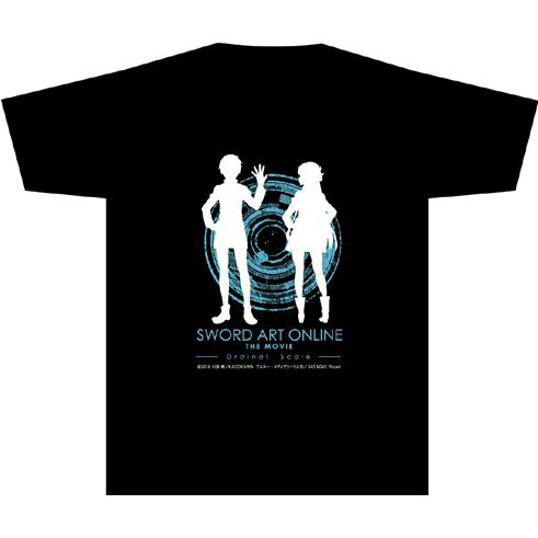 Sword Art Online The Movie - Ordinal Scale T-shirt Black