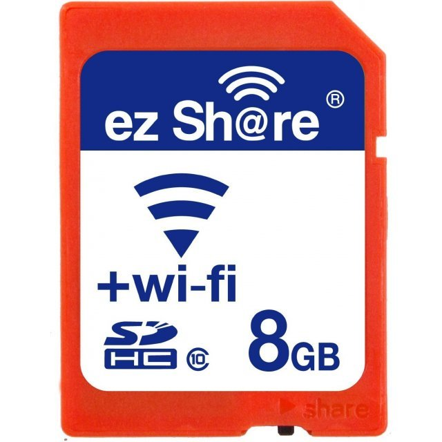 EZ Share Wifi SDHC 8GB, 2nd Gen/Class 10