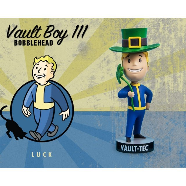 Fallout 4: Vault Boy 111 Bobbleheads Series Three: Luck