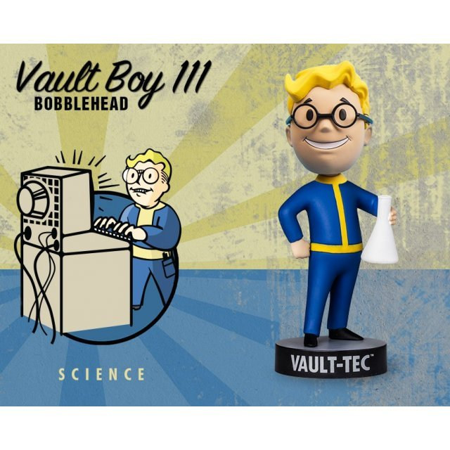 Fallout 4: Vault Boy 111 Bobbleheads Series Three: Science