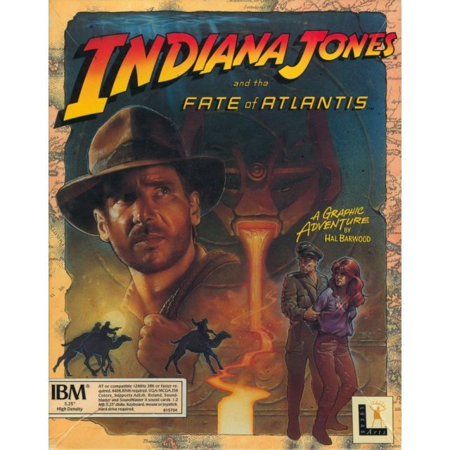 Indiana Jones and the Fate of Atlantis (Steam)