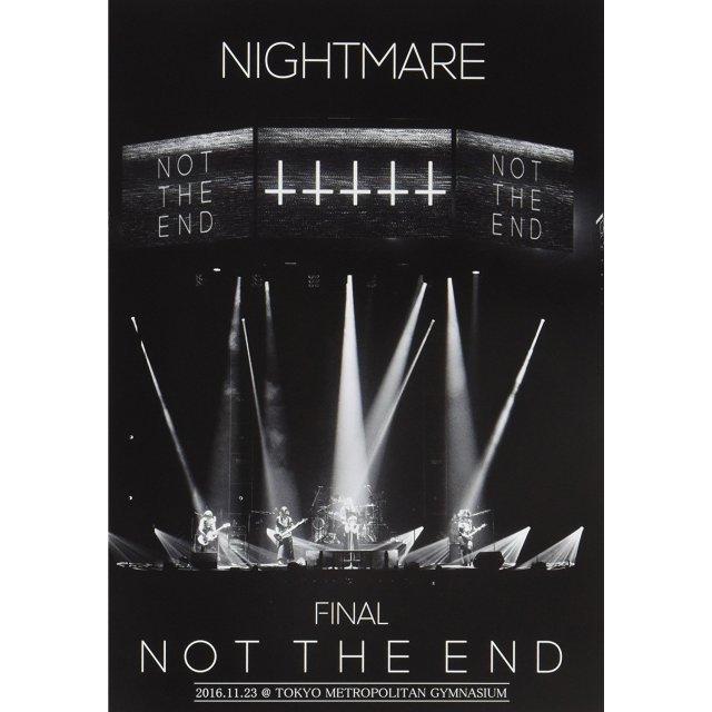 Nightmare Final Not The End 2016.11.23 At Tokyo Metropolitan Gymnasium [2DVD+CD Limited Edition]