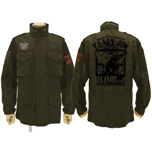 Limited - 20th Samaden Battalion M-65 Jacket Moss (XL Size)