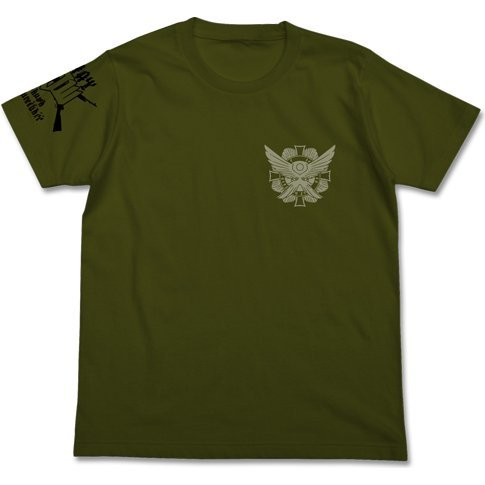 The 20th Samaden Battalion T-shirt Moss (M Size)