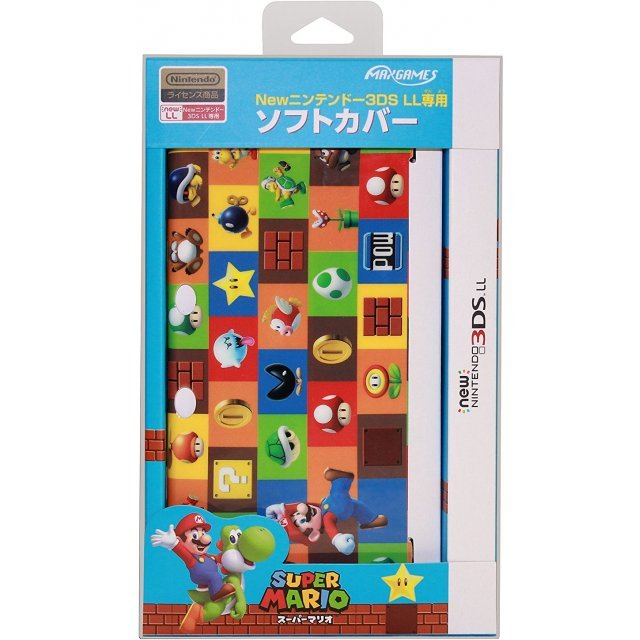 Hard Cover for New 3DS LL - Super Mario (Green)
