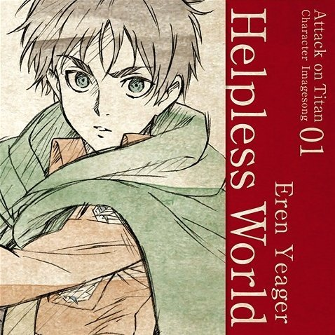 Attack On Titan Character Image Song Series Vol.01 Helpless World