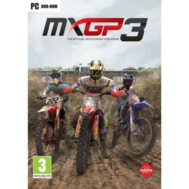 MXGP3: The Official Motocross Videogame (DVD-ROM)
