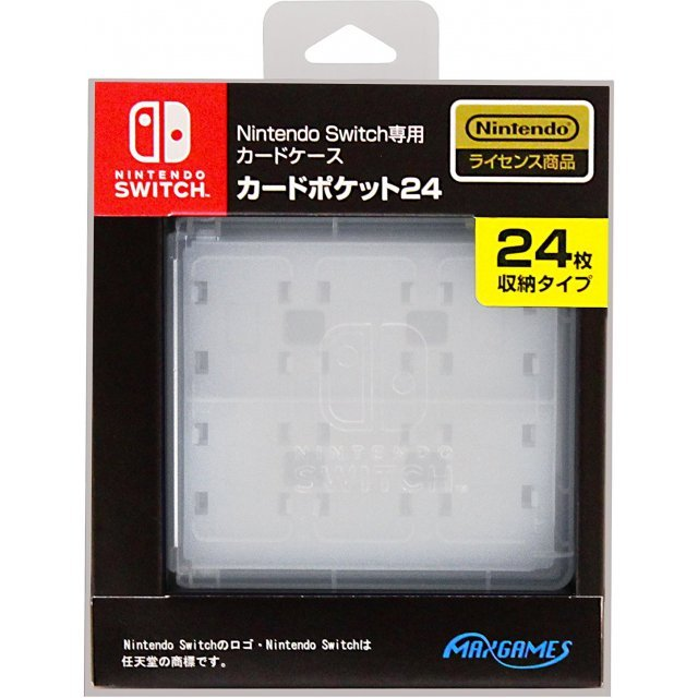Nintendo Switch Card Case 24 (White)