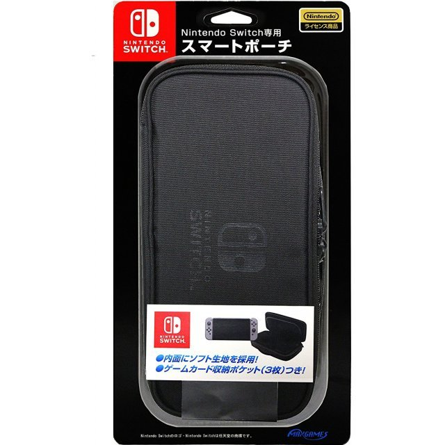 Smart Pouch for Nintendo Switch (Black)
