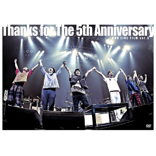 Bnv Live Film Vol.3 - Thanks For The 5th Anniversary