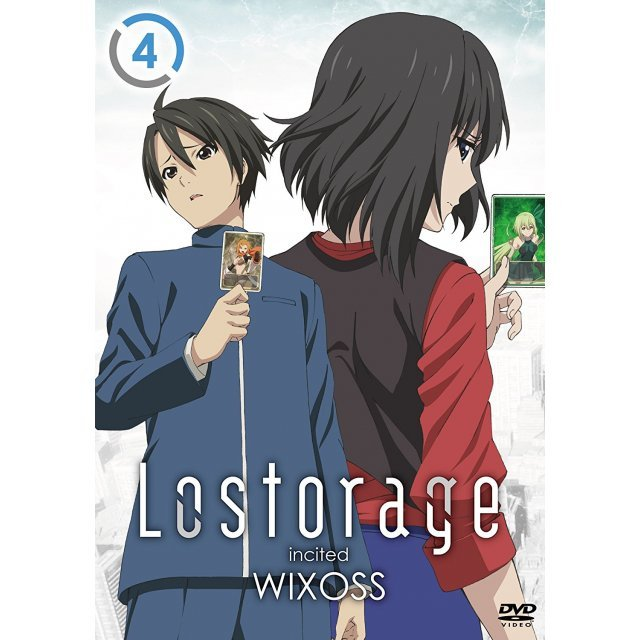 Lostorage Incited Wixoss 4 [DVD+CD Limited Edition]