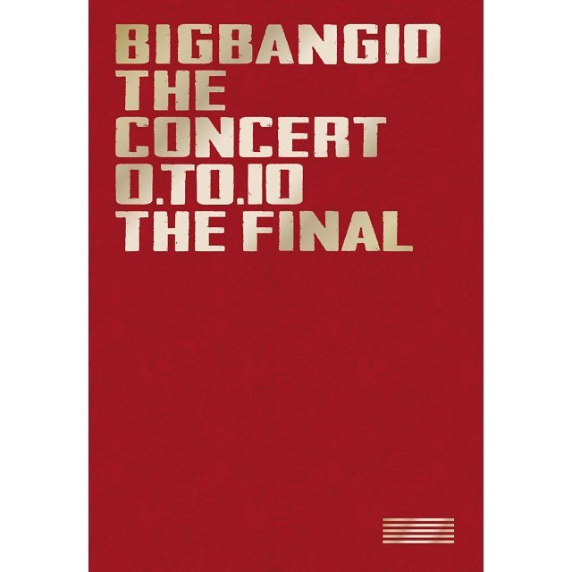 Bigbang10 The Concert: 0 To 10 - The Final - Deluxe Edition [3Blu-ray+2CD Limited Edition]