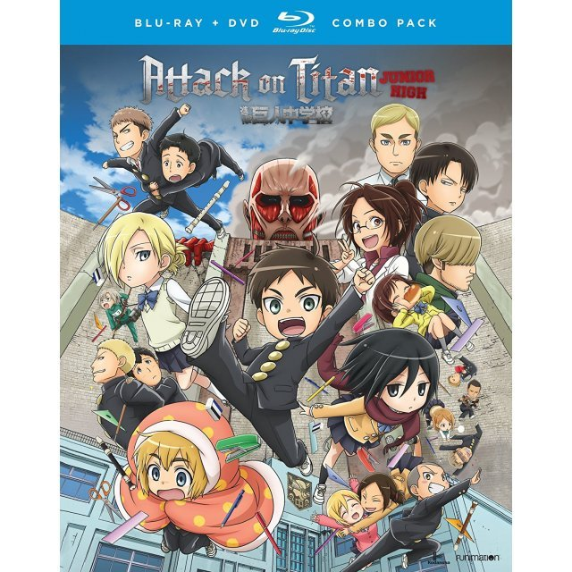 Attack On Titan: Junior High - The Complete Series [Blu-ray+DVD]