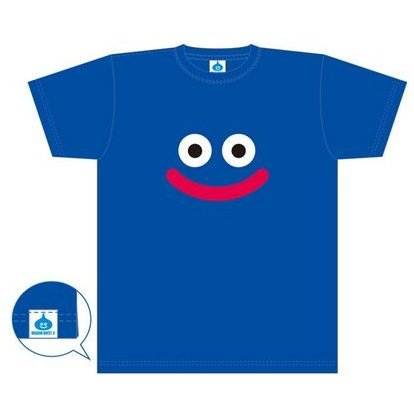 Dragon Quest X Slime T-shirt Blue (M Size)