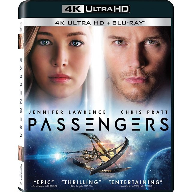 Passengers [4K Ultra HD Blu-ray]