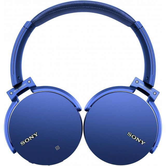 Sony MDR-XB950B1 Extra Bass Wireless Headphones (Blue)