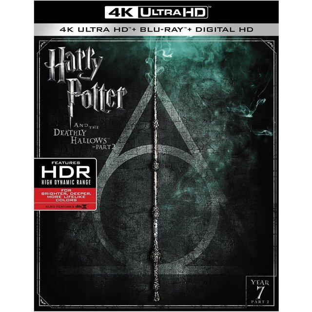 Harry Potter And The Deathly Hallows Pt.2 [4K Ultra HD Blu-ray]