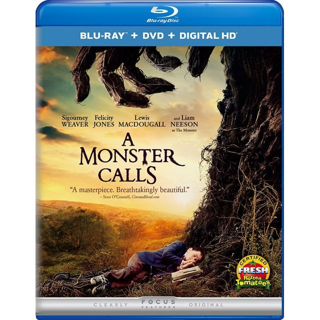 A Monster Calls [Blu-ray+DVD+Digital HD]