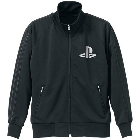 PlayStation Logo Jersey Black (L Size) [Re-run]