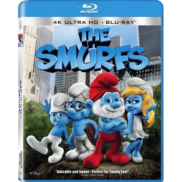 The Smurfs [4K Ultra HD Blu-ray]