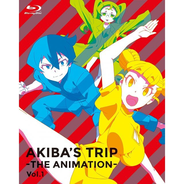 Akiba's Trip - The Animation - Blu-ray Box Vol.1 [Blu-ray+CD Limited Edition]