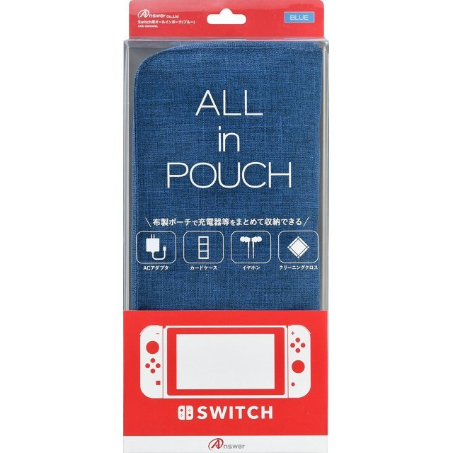 All in Pouch for Nintendo Switch (Blue)