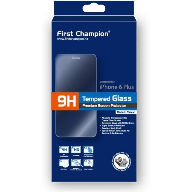 First Champion 9H Tempered Glass (iPhone 6 Plus/iPhone 6s Plus)